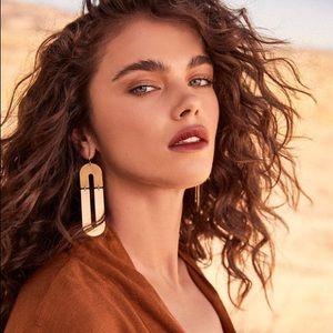 Gold Geometric Earrings